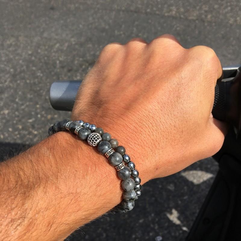 Bracelet homme labradorite - les patients du doc 7fce4a47a36b