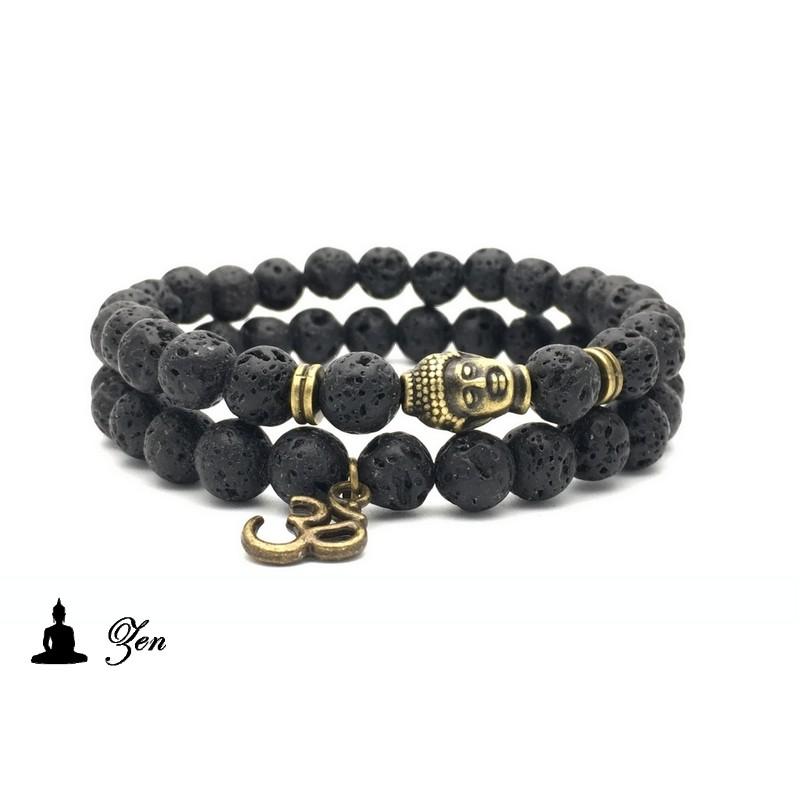 bracelet homme mode stunning notre slection de bracelet homme noir et or with bracelet homme. Black Bedroom Furniture Sets. Home Design Ideas
