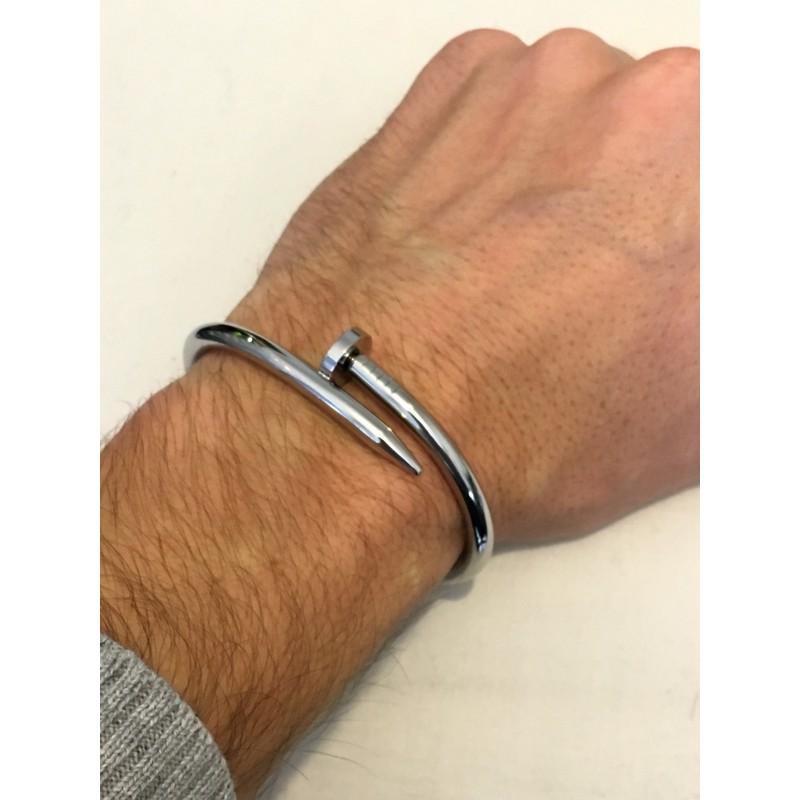"""Souvent Bracelet """"Nail premium version"""" silver, gold, Pink gold, Black (2  EI04"""