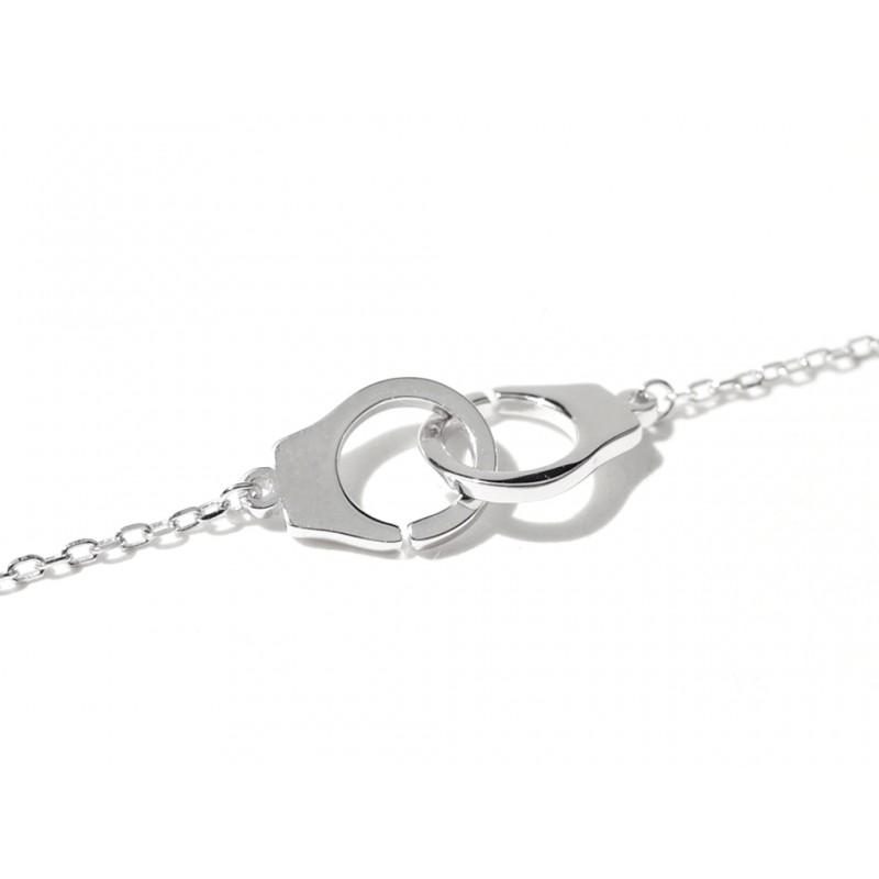 bracelet femme menotte