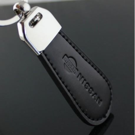 Porte clés NISSAN / Top design (Simili cuir et surpiqûre - Micra Juke Qashqai)