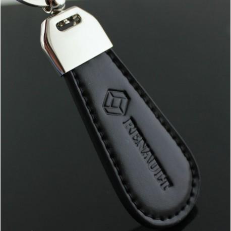 Porte clés RENAULT / Top design (Simili cuir et surpiqûre - Twingo Clio Megane)