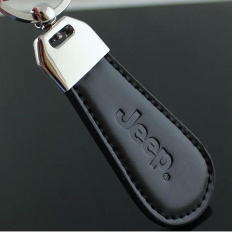 Porte clés Jeep / Top design (Simili cuir et surpiqûre - clef keychain)