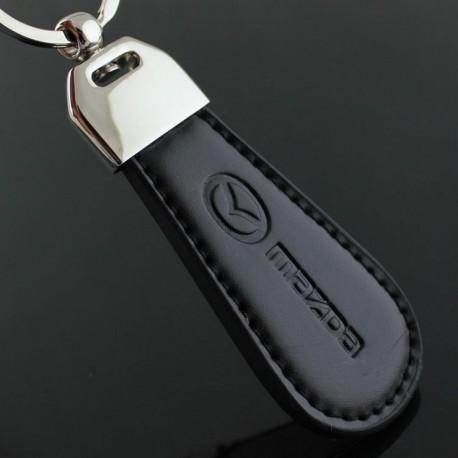 Porte clés Mazda / Top design (Simili cuir et surpiqûre - clef keychain)